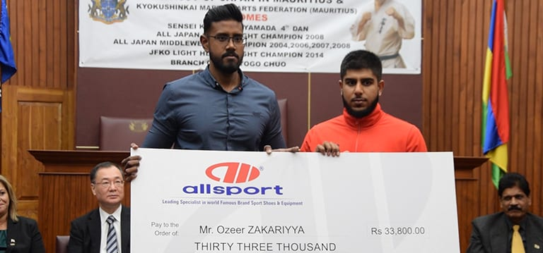 [Vidéo] Championnat d'Asie de Kyokushinkai: Zakariyya Ozeer espère ramener un trophée de Singapour