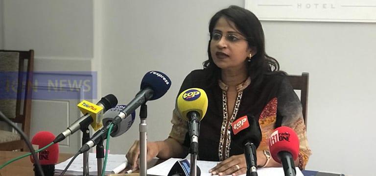 [Live] Roubina Jadoo-Jaunbocus s'explique sur sa démission comme ministre