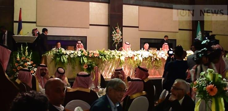 Les femmes interdites au banquet en l'honneur du prince saoudien