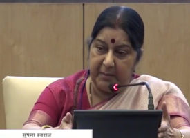 [Vidéo] World Hindi Conference: Sushma Swaraj «fière» de l'implication des Etats indiens