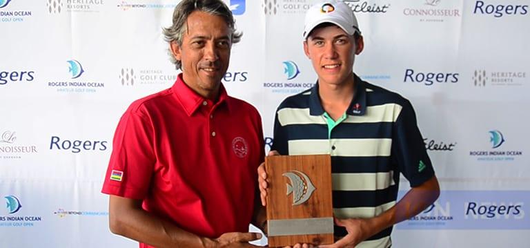 [Vidéo] A 16 ans, Sam Simpson, remporte le Rogers Indian Ocean Amateur Golf Open