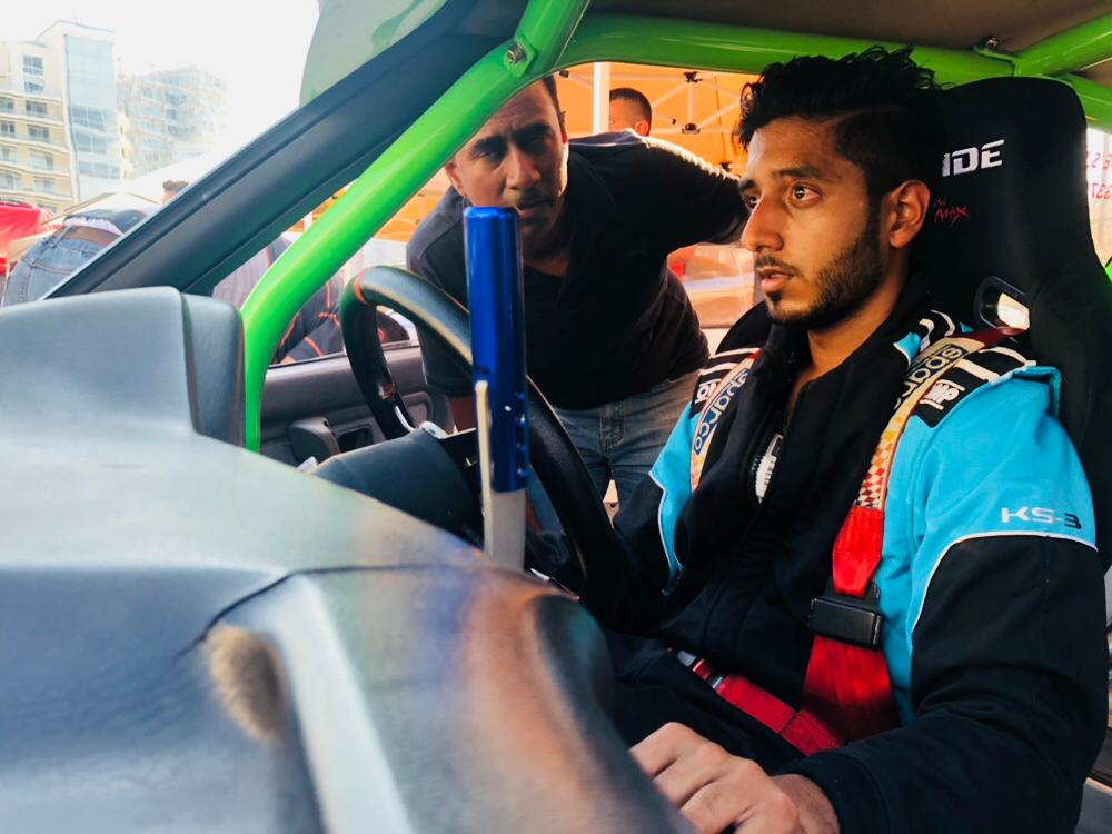 Suivez la course de Shehzad Soorabally cet après-midi en live
