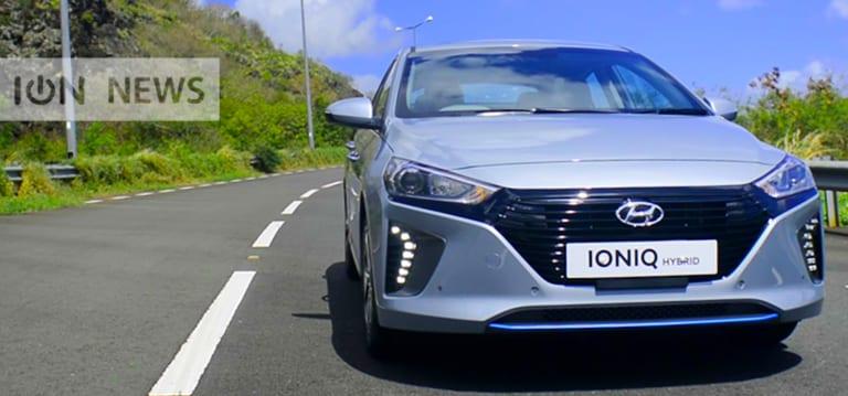 [Vidéo] ION Drive : La Hyundai Ioniq trace sa route sur le marché local de l'hybride