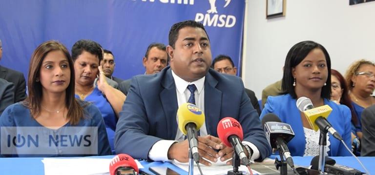 Patrice Armance, nouveau Chief Whip de l'opposition