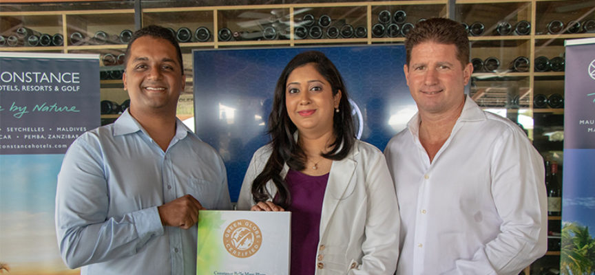 Développement durable : Constance Hotels & Resort certifié Green Globe Gold