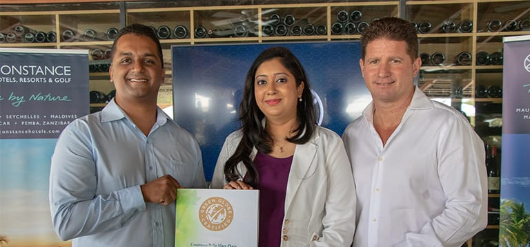Développement durable: Constance Hotels & Resort certifié Green Globe Gold