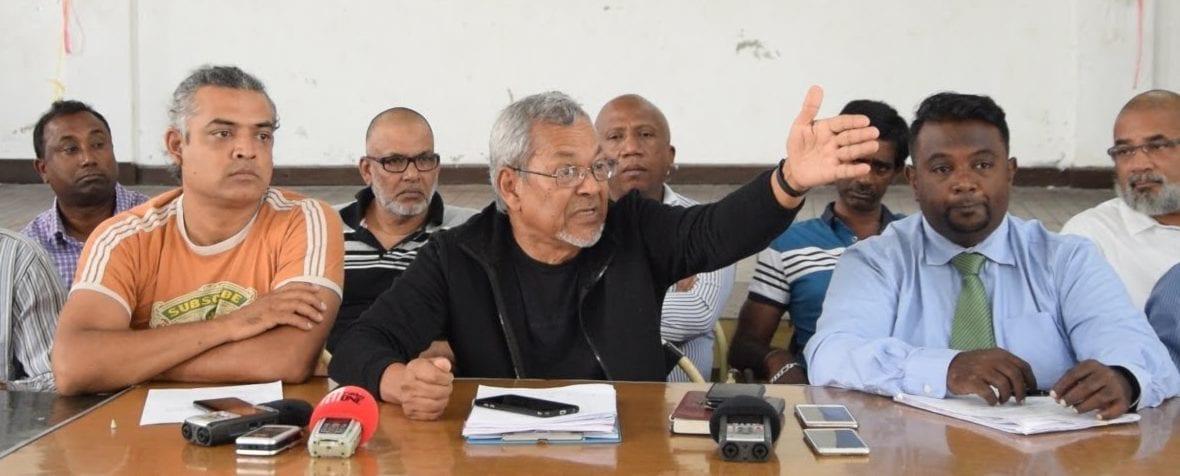 [Vidéo] L'Intersyndicale d'Air Mauritius : Qu'on paie les arrérages ou c'est la grève