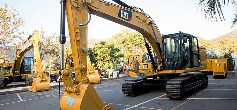 La nouvelle génération d'excavatrice Caterpillar désormais disponible à Maurice