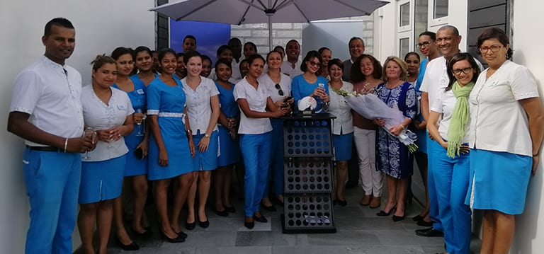 Coquille Bonheur remporte le «Outstanding Services Award 2008-2018»