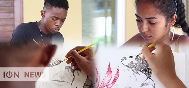 [Vidéo] Deux prodiges à l'Ecole supérieure d'art de La Réunion