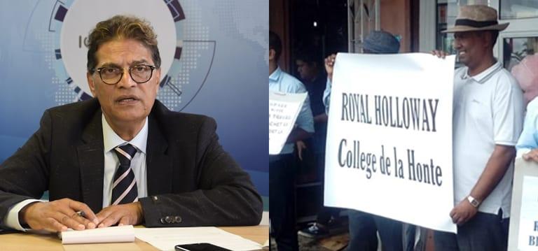 [Vidéo] Litige au collège Royal Holloway : Le propriétaire s'explique