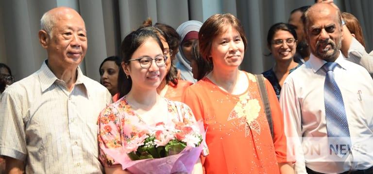 [Vidéo] Steffi Li Ting Chung, lauréate au collège GMD Atchia «grâce à» ses amies