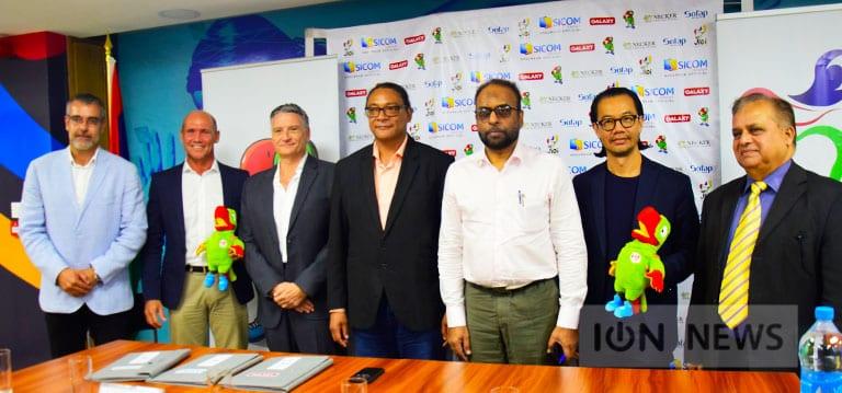 [Vidéo] D'autres sponsors se manifestent pour les Jeux des îles de l'océan Indien