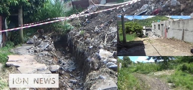 [Vidéo] Nouvelle route et drains prévus pour les squatters de Cité-La-Cure