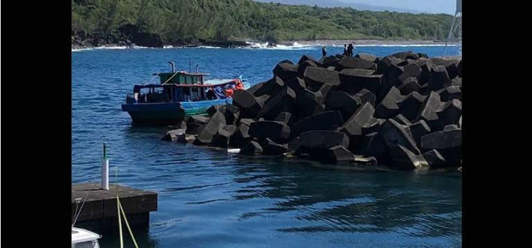Un septième bateau de migrants sri-lankais mouille à La Réunion