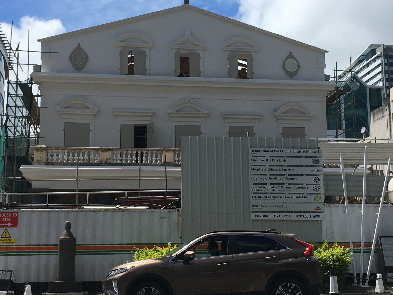 Rénovation du théâtre de Port-Louis : L'appel d'offres pour la deuxième phase bientôt lancée