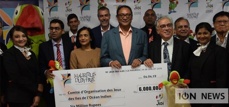 [Vidéo] La Mauritius Duty Free Paradise sponsorise les JIOI à hauteur de Rs 6 M