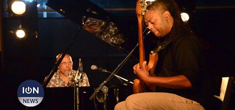 [Vidéo] Le dialogue jazzy de Linley Marthe et Belingo Faro