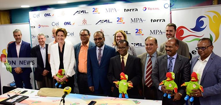 [Vidéo] Huit sponsors avancent Rs 1 million pour les Jeux des îles de l'océan Indien