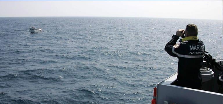 Une demi-tonne d'héroïne saisie par la Marine française dans l'océan I'Indien