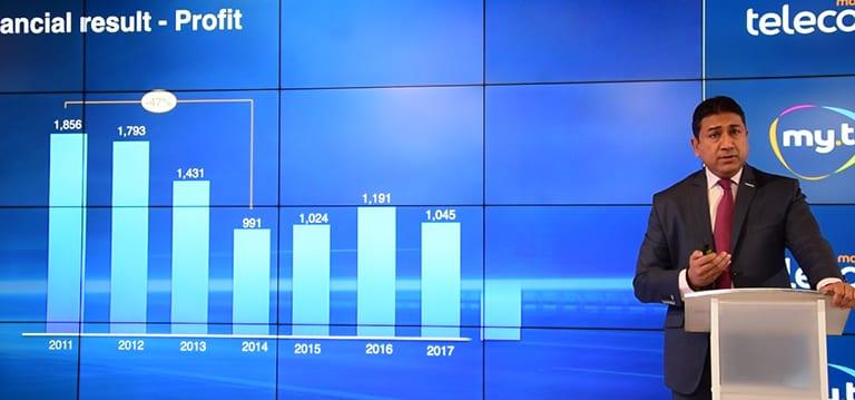 [Vidéo] Mauritius Telecom dit avoir enregistré des profits de Rs 1,3 milliard depuis 2014