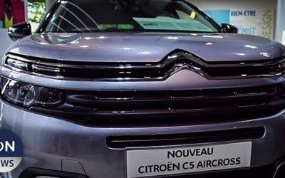 Le nouveau Citroën C5 Aircross offert en deux finitions