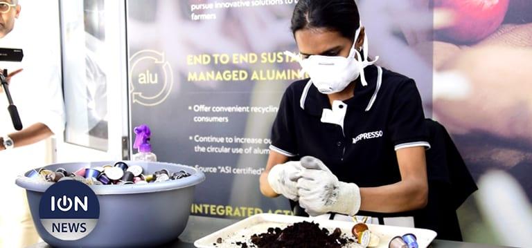 [Vidéo] Les capsules Nespresso se recyclent désormais à Maurice