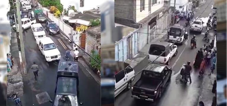 [Vidéo] Des partisans de Javed Meetoo se disent «traumatisés» par les fouilles de la police