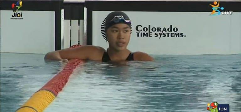 [Vidéo] Alicia Kok Shun, médaillée d'or aux JIOI à seulement 14 ans