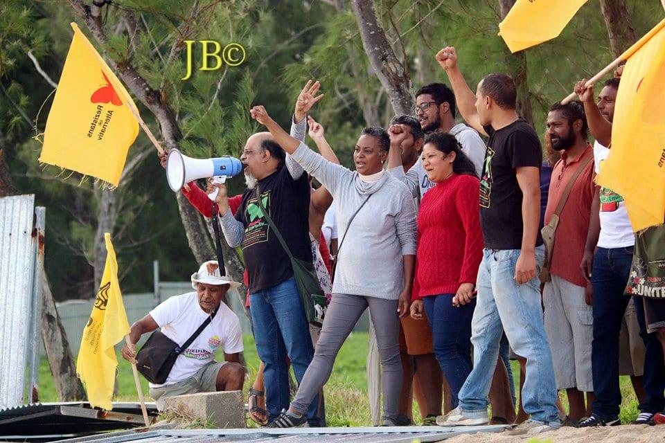 Manifestation à Pomponette : Ashok Subron convoqué par la police ce jeudi