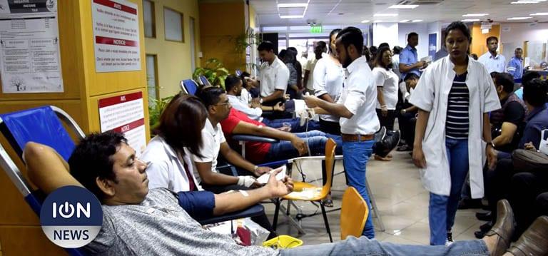[Vidéo] Husnoo : Maurice affiche la meilleure moyenne de donneurs de sang en Afrique