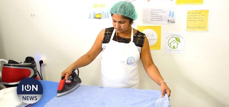 [Vidéo] Xpress Ironing, le service de blanchisserie qui veut rouler au solaire