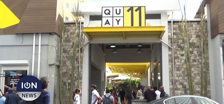 [Vidéo] Quay 11, le nouveau rendez-vous gourmand et shopping à Port-Louis