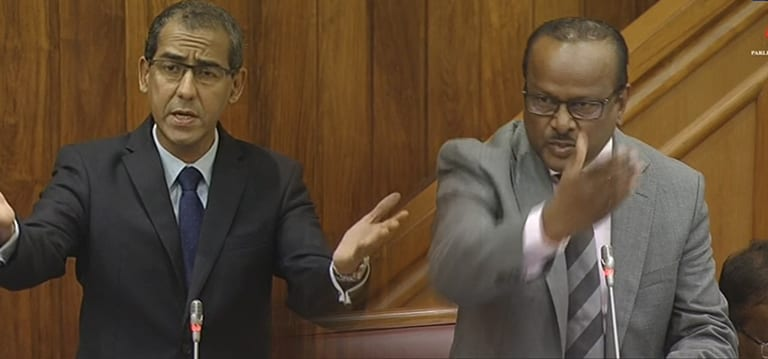 [Vidéo] Affaire BAI : Le ministre Sesungkur s'en prend à Osman Mahomed et au PTr