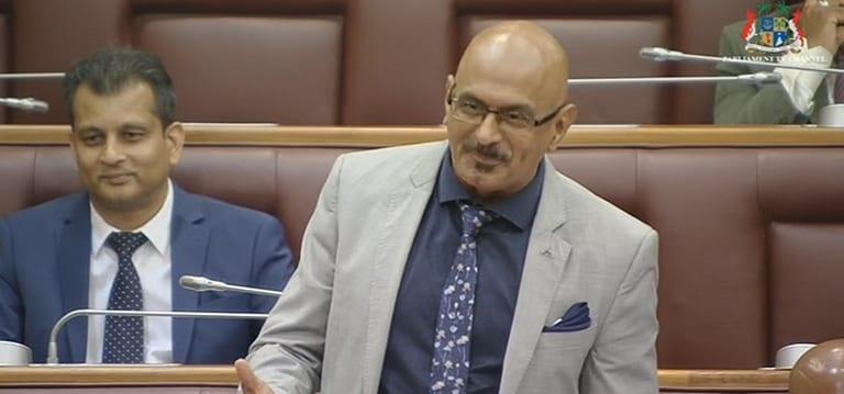Bashir Jahangeer laboure le terrain pour l'Alliance Nationale