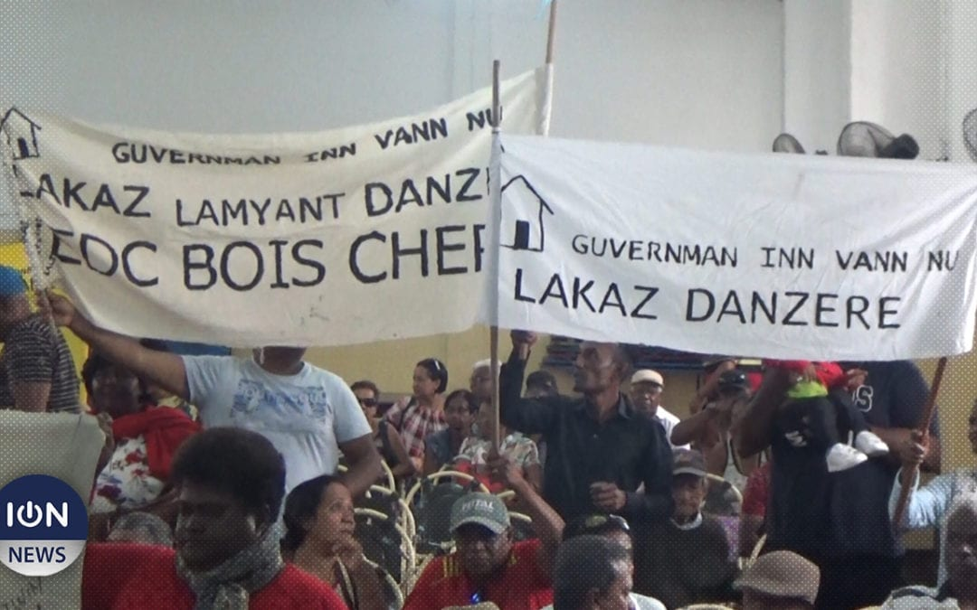 [Vidéo] Maisons amiantées : Lalit exige que le gouvernement honore ses promesses