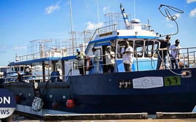 [Vidéo] Les pêcheurs artisanaux de Maurice prennent le large