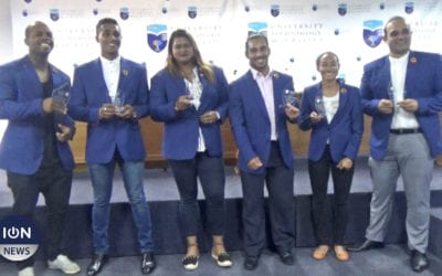 [Vidéo] L'université de Technologie récompense ses athlètes médaillés aux 10e JIOI