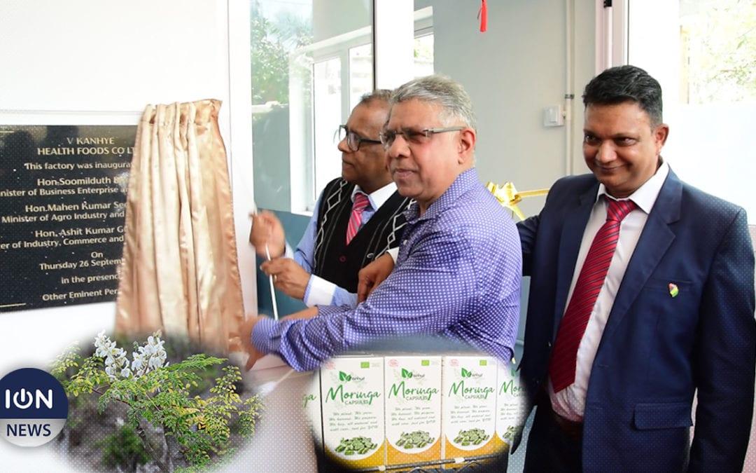 [Vidéo] Kanhye Health Foods Ltd, producteur de moringa, étend ses locaux
