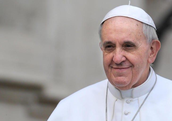 Bienvenue au Souverain pontife