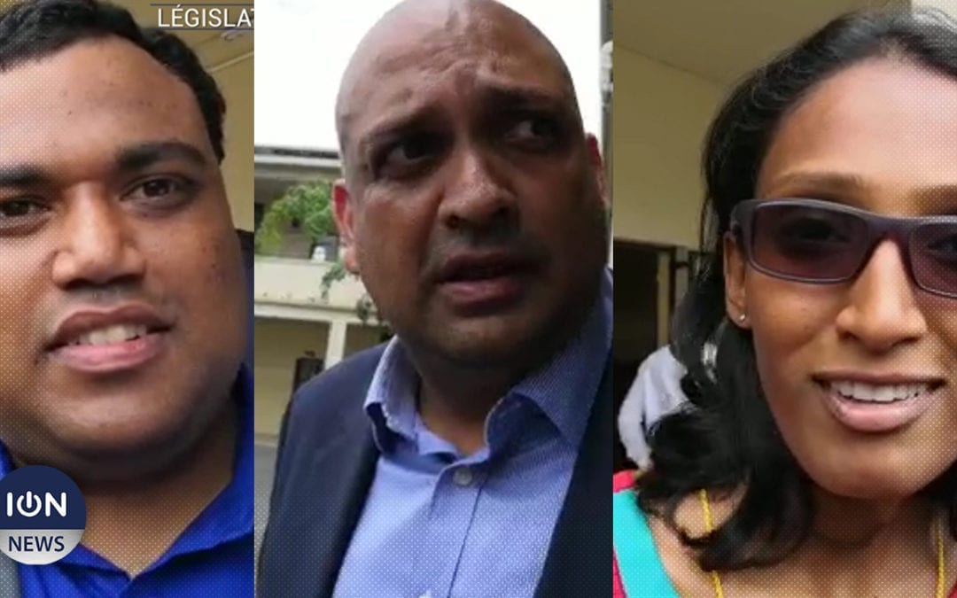 [Vidéo] A Stanley/Rose-Hill, la «jeunesse» de l'Alliance Nationale affronte les «dinosaures»