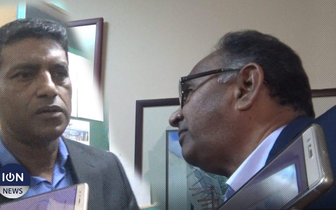 [Vidéo] A la Commission électorale : Accrochage entre Ganoo et Bumma