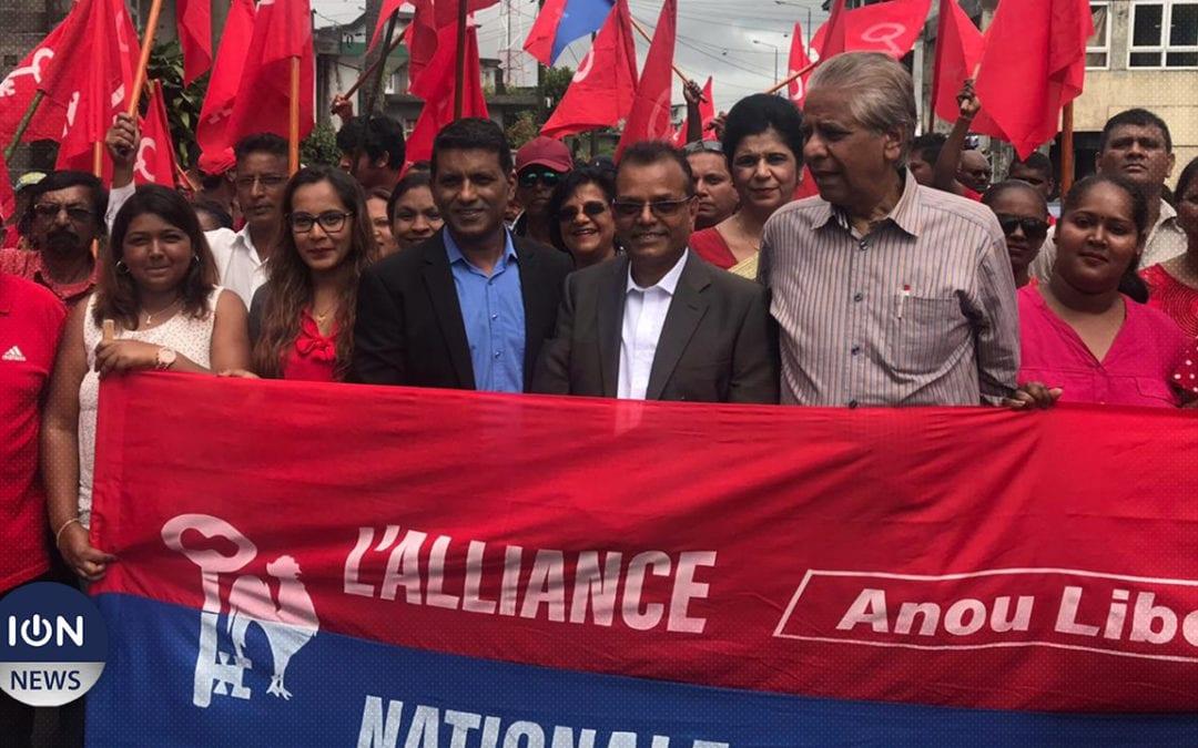 [Vidéo] Ashock Jugnauth de l'Alliance Nationale ne craint pas son neveu Pravind mais «l'argent»