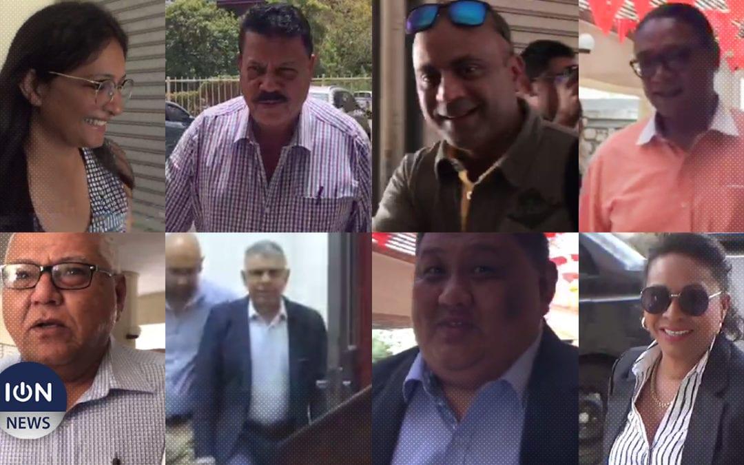 [Vidéo] Les candidats de l'Alliance Morisien en briefing au Sun Trust