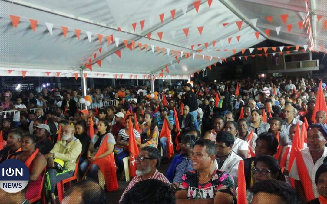 [Live] L'Alliance Morisien donne le ton de sa campagne électorale à Ste Croix