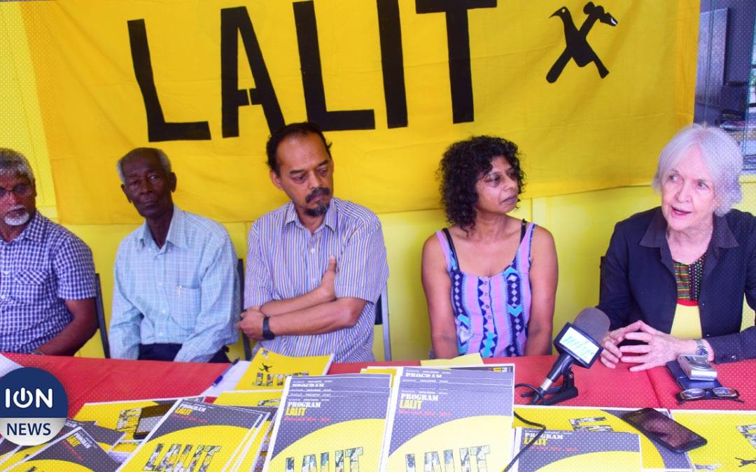[Vidéo] Lalit présente son programme et un candidat par circonscription
