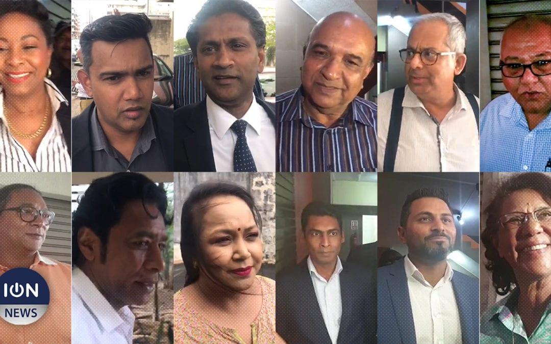 [Vidéo] Les nouveaux candidats de l'Alliance Morisien confirment leurs investitures