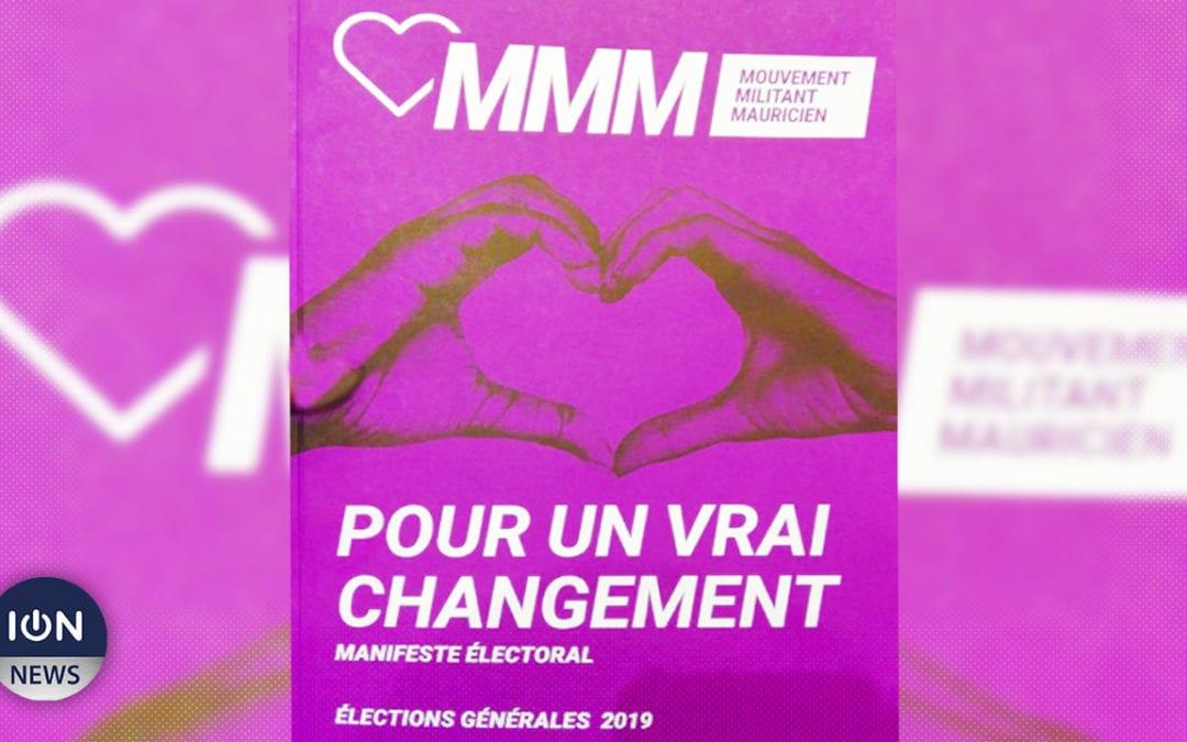 [Document] Lisez le manifeste électoral du MMM dans son intégralité