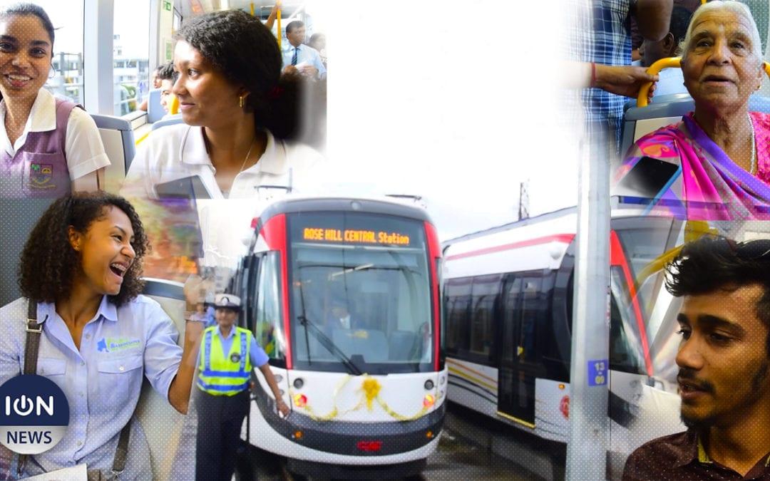 [Vidéo] Metro Express : L'émoi des premiers passagers