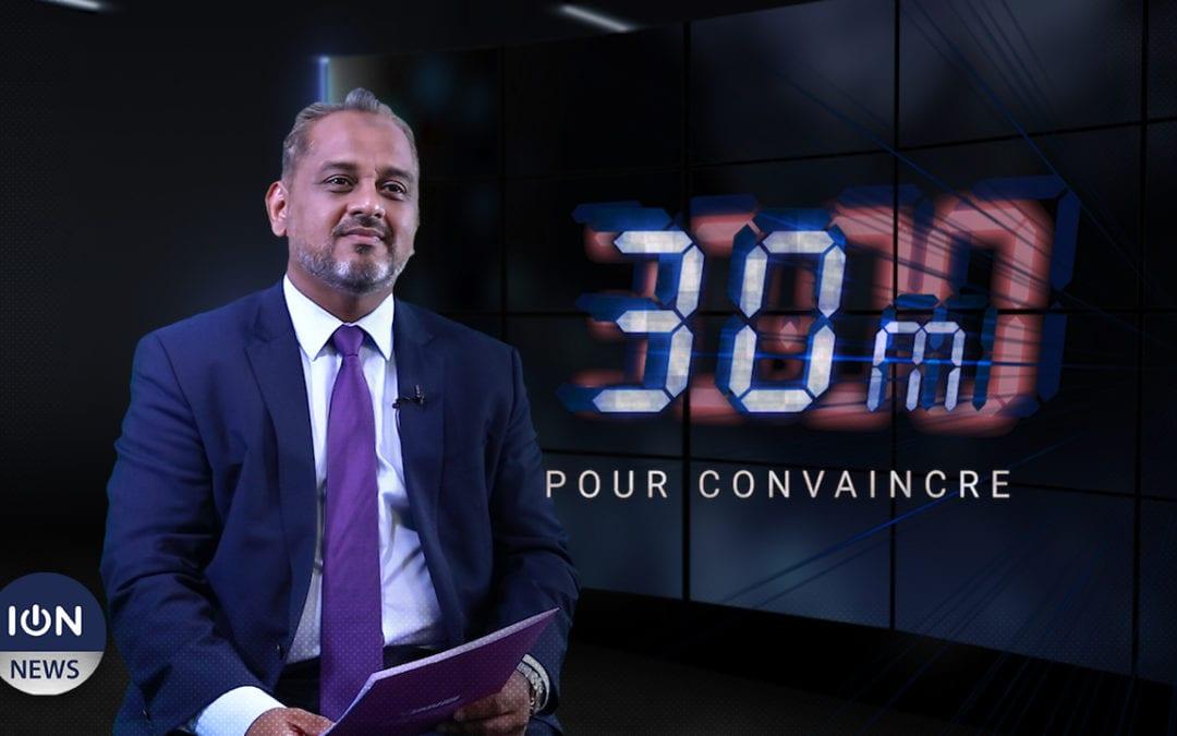 [Vidéo] 30 min pour convaincre : Reza Uteem détaille les priorités économiques d'un gouvernement MMM